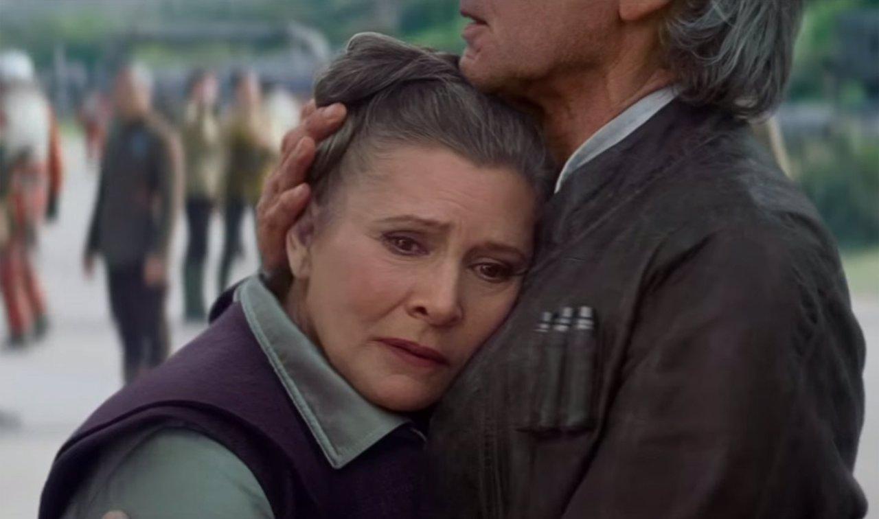 Carrie Fisher, la princesa Leia en Star Wars