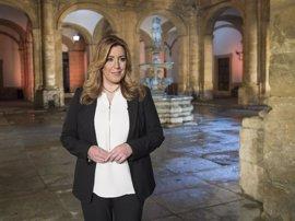 Susana Díaz se reúne con Puig y participa en un acto por el 28F en Valencia