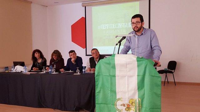 Ignasi Candela, diputado de Compromís en el Congreso