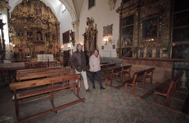 Visita de la alcaldesa de Córdoba al palacete de Santa Cruz