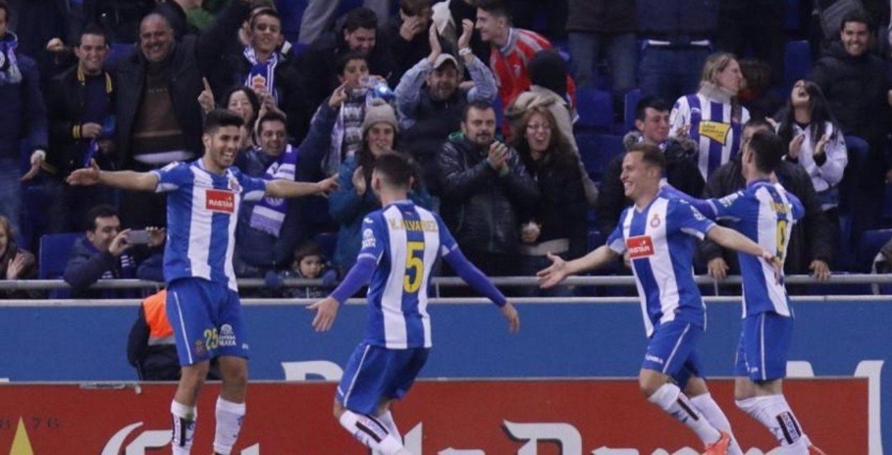 Marcos Asensio marca con el Espanyol