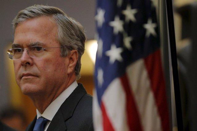 El precandidato a la Presidencia de Estados Unidos, Jeb Bush