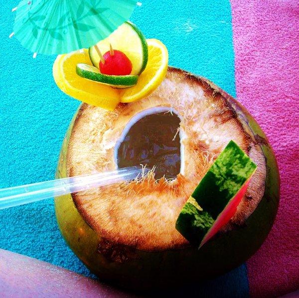 Coco Loco bebida