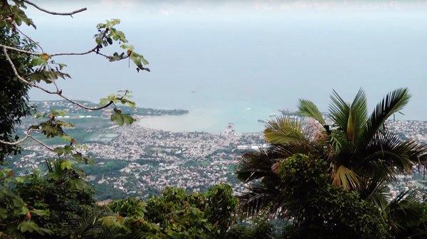 Vistas desde Monte Isabel de Torres- Puerto Plata