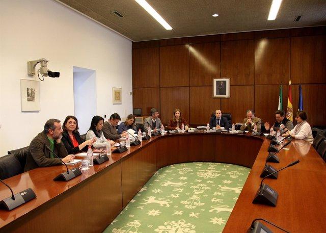Reunión de la comisión de investigación