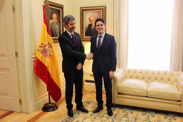 Carlos Lemes y José Antonio Galdón