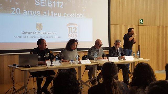El 112 celebra sus 20 años en Baleares
