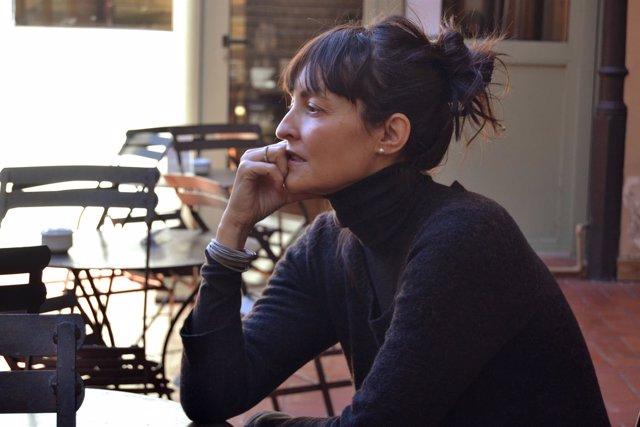 La escritora Eva Blanch