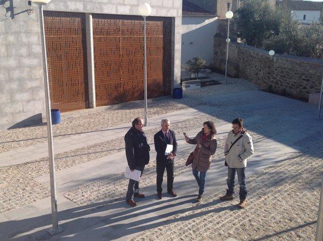 Entrega de obras del centro cívico de Villanueva del Duque