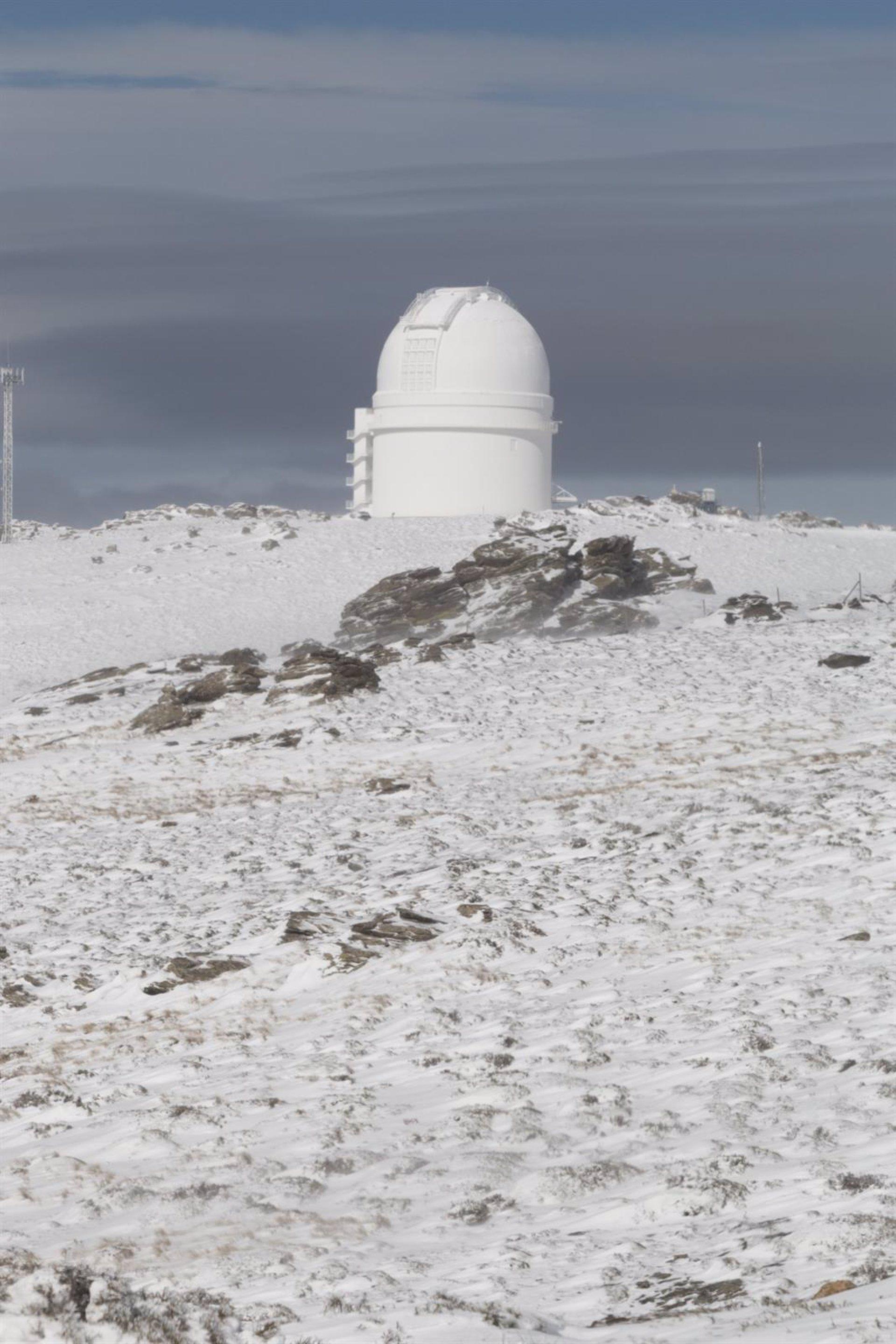 Las cotas más altas del destino 'Costa de Almería' se llenan de nieve