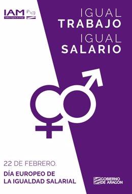 El IAM reivindica la igualdad salarial entre hombres y mujeres.