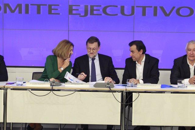 Rajoy, Cospedal y Fernando Martínez