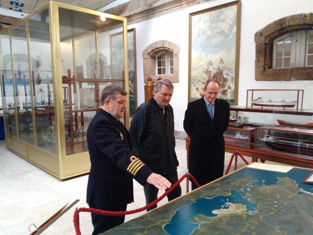 El ministro de Cultura visita Exponav en Ferrol