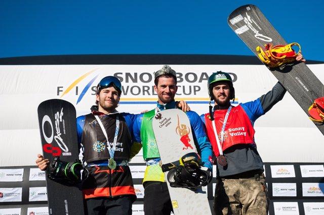 Lucas Eguibar snowboard Copa Mundo Rusia