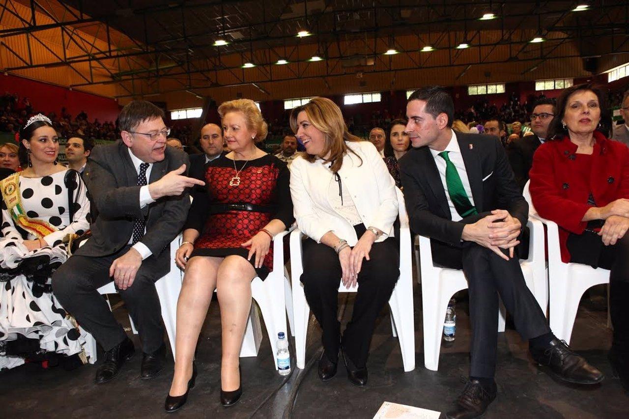 Puig, Torres, Díaz y Fernández en Mislata