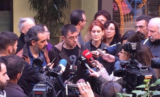 El fundador de Podemos, Juan Carlos Monedero