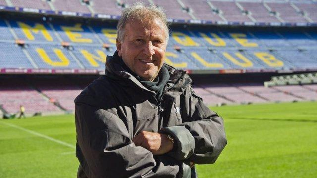Zico Camp Nou Barcelona
