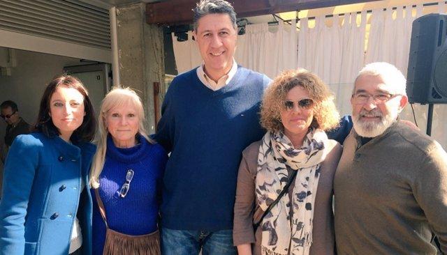 Andrea Levy y Xavier García Albiol