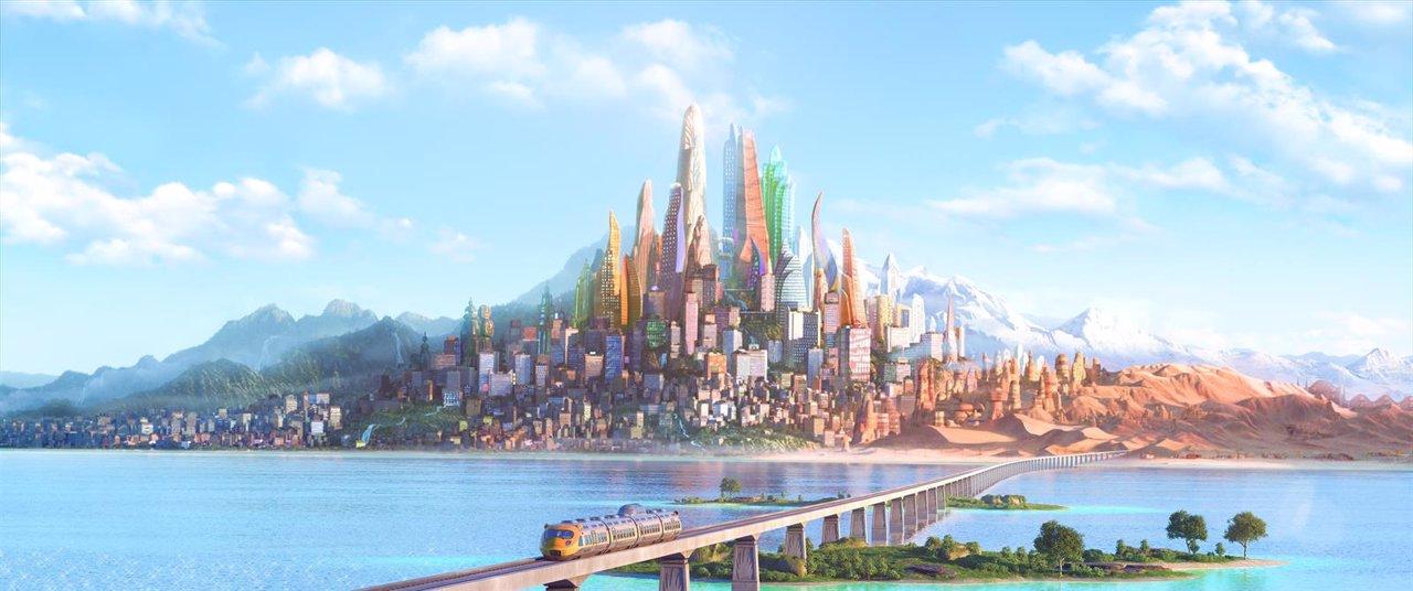 La ciudad de Zootrópolis de Disney