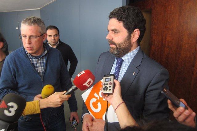 El portavoz de C's en el Ayuntamiento de Barcelona, Paco Sierra