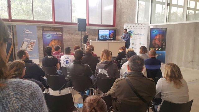 Presentación del Campeonato de Europa de Fotografía Submarina