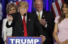Trump se desentiende del abandono de Jeb Bush