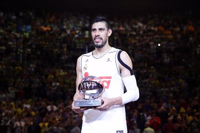 Gustavo Ayón, MVP de la Copa del Rey de A Coruña