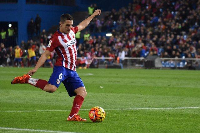 Atlético Madrid contra RCD Espanyol - Koke