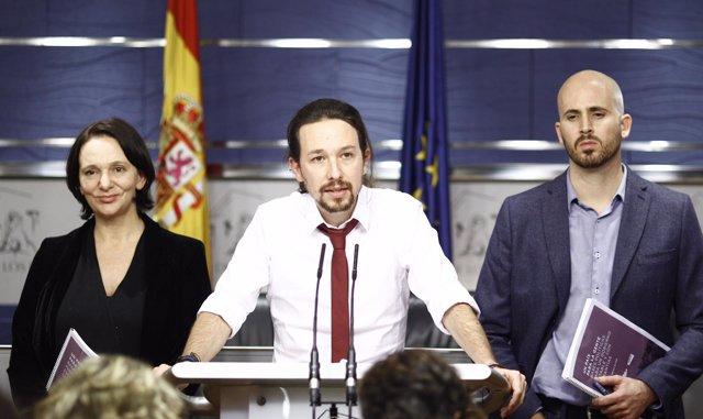 Pablo Iglesias presenta su nueva propuesta de gobierno