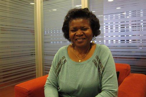 Doctora Esther Tallah, directora de la Coalición de Camerún contra la Malaria