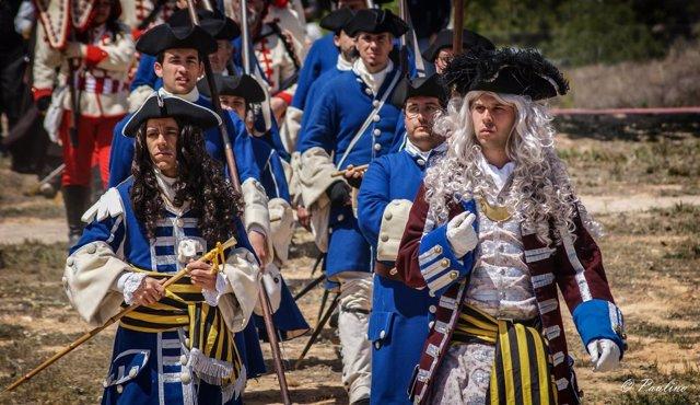 Actividades de recreación histórica con Miquelets de Girona