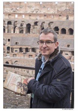 Santiago Posteguillo en Roma