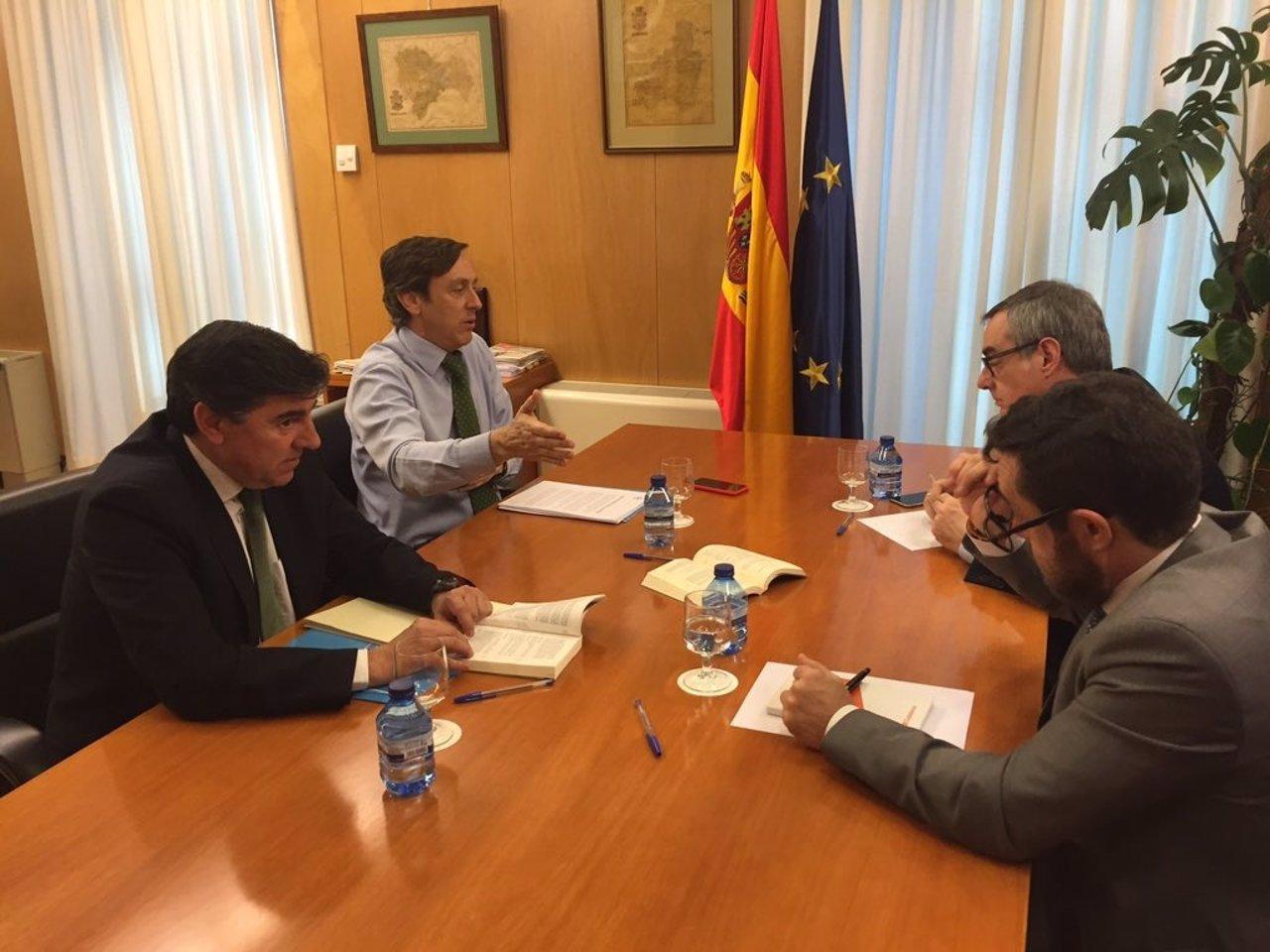 Reunión PP y Ciudadanos
