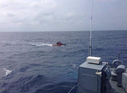 La Armada de Colombia rescata en el mar a 31 migrantes irregulares