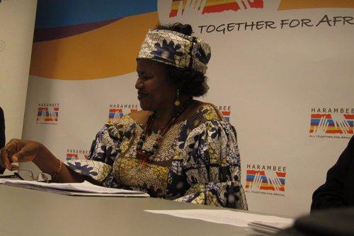 Doctora Esther Tallah, Premio Harambee 2016