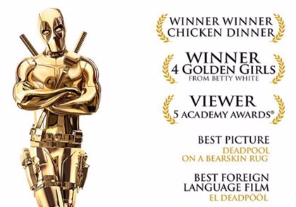 Deadpool también quiere un Oscar
