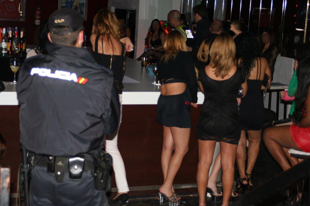 Operación contra la trata de seres humanos en Sevilla