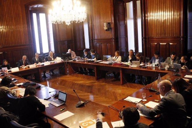 Comisión de Asuntos Institucionales del Parlament