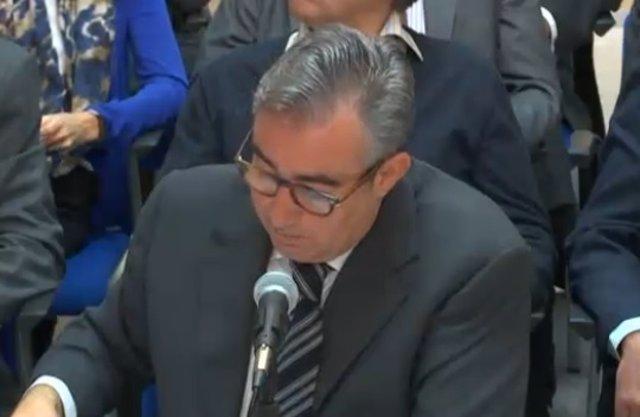 Diego Torres en el juicio por el caso Nóos