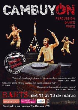 Cartel del espectáculo 'Cambuyón'