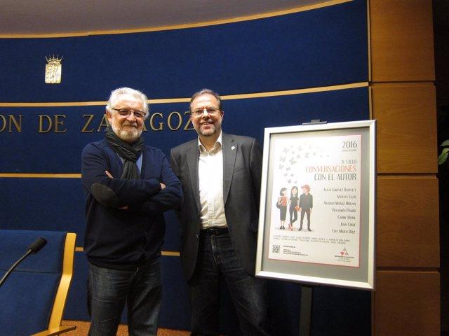 Ramón Acín y Bizén Fuster han presentado este ciclo literario en la DPZ