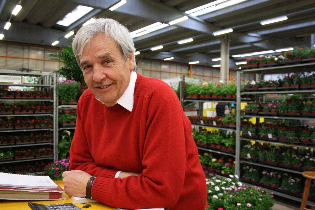Josep Pastó, pte. Mercado de la Flor y la Planta Ornamental de Catalunya