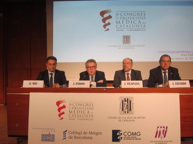 Presentación del 3r Congreso de la Profesión Médica en Catalunya