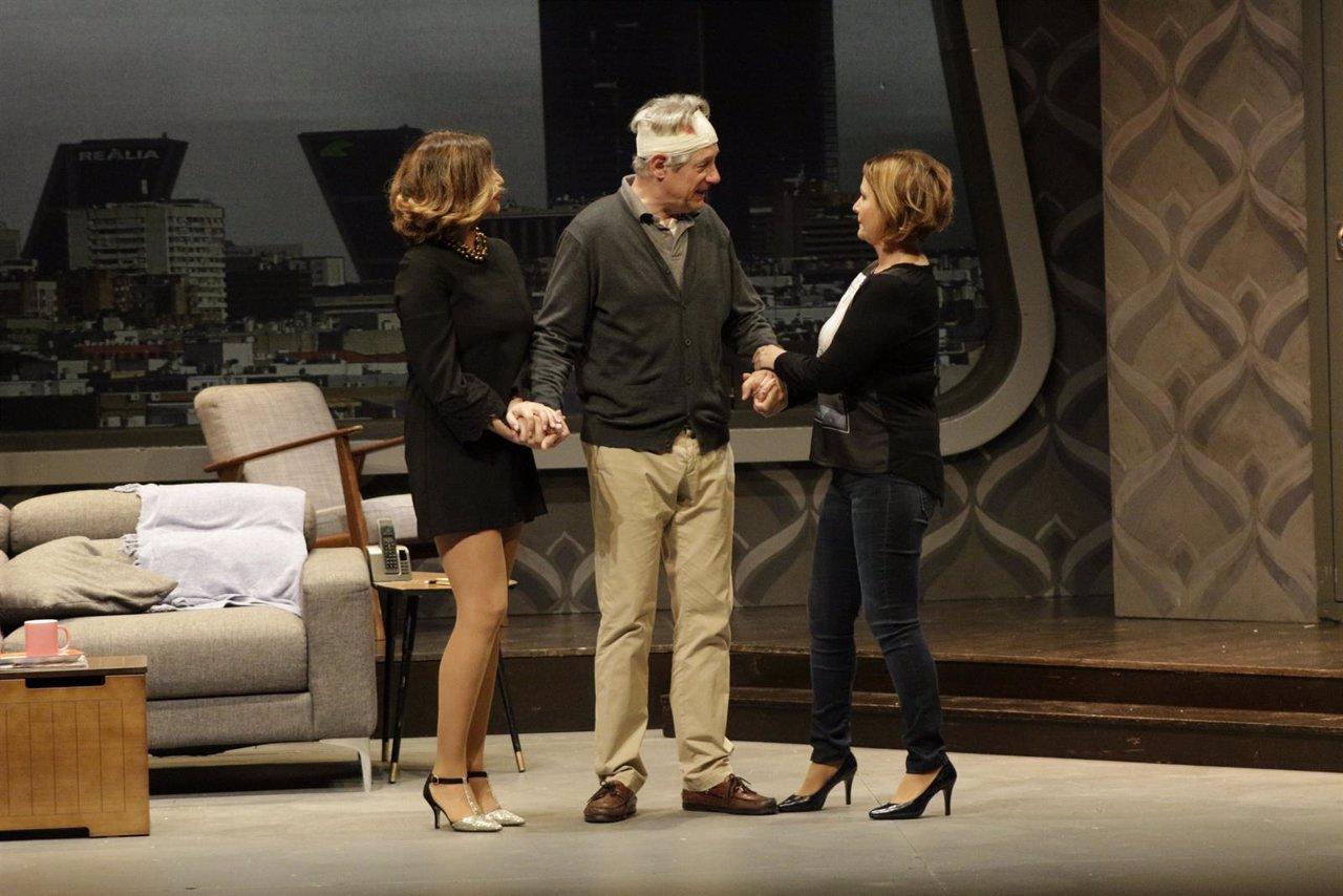 Un momento de 'Taxi', estrenado en el Teatro Alameda de Málaga