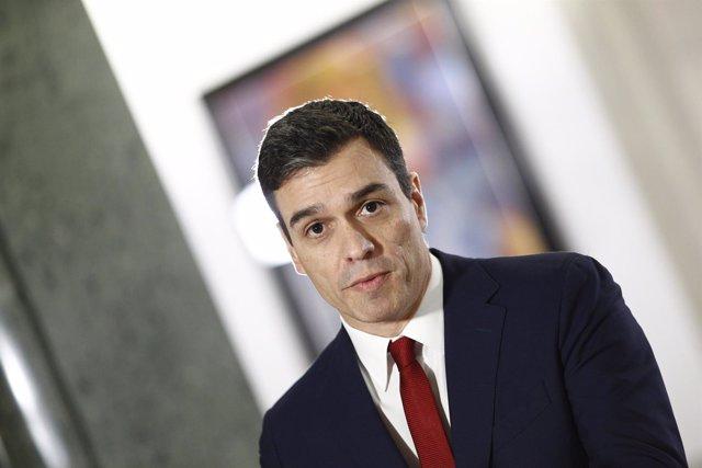 Rueda de prensa de Pedro Sánchez tras la firma del acuerdo