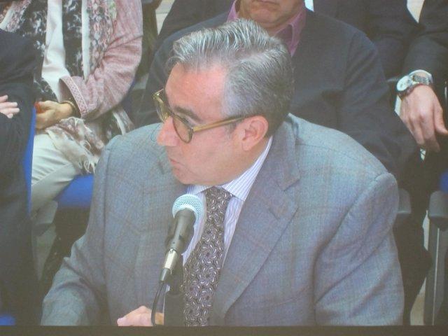 Diego Torres, declarando en el juicio del caso Nóos