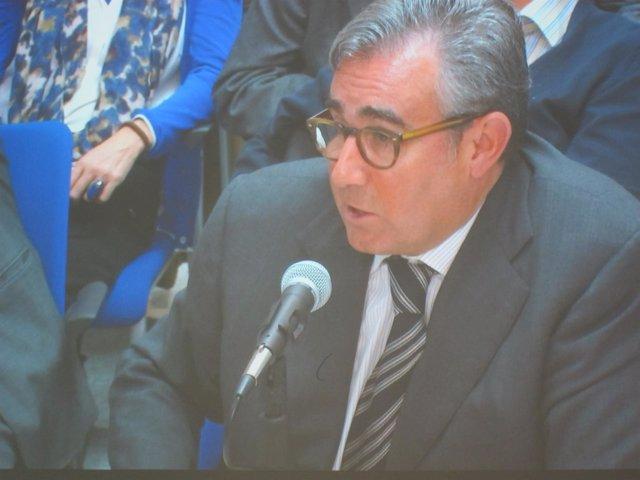 Diego Torres, en el juicio del caso Nóos