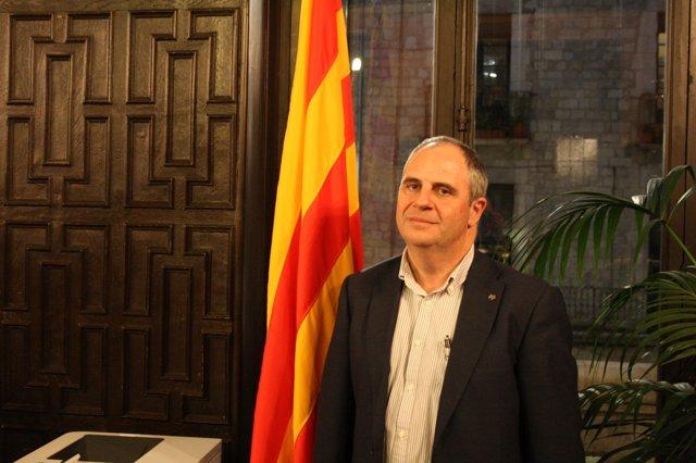 El alcalde de Girona, Albert Ballesta.