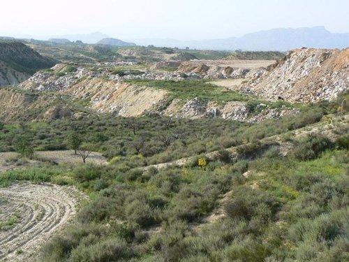 Un Vertedero De Murcia