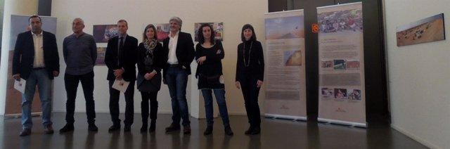 Presentación de una exposición sobre jóvenes con discapacidad saharauis